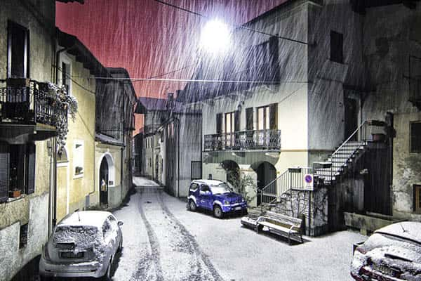 Does it snow in Italy?