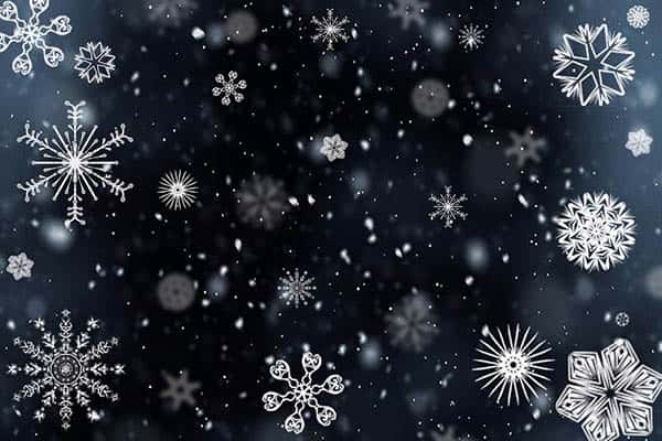 How does snow forms?