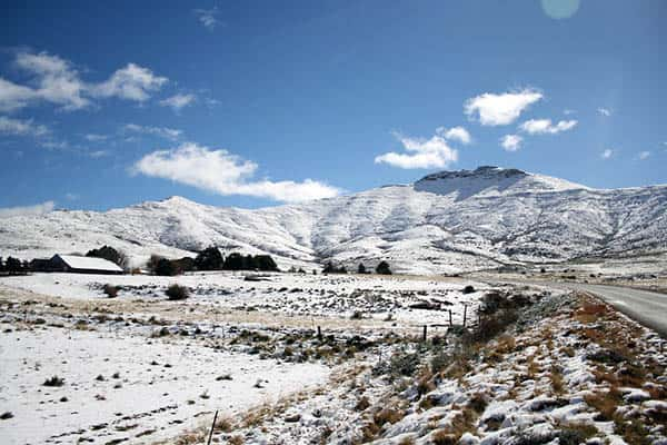 Does it snow in South Africa?