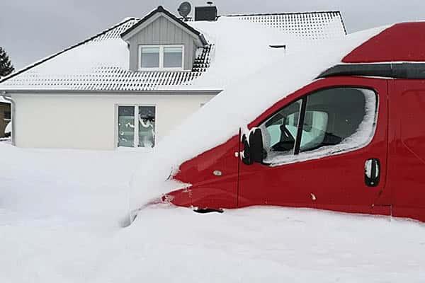 Does it snow in Denmark?