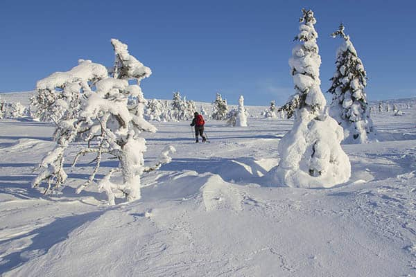 Does it snow in Finland?
